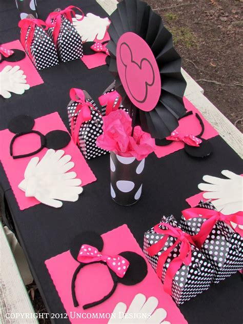Minnie Mouse Birthday Decorations by A Minnie Mouse Birthday Uncommon Designs