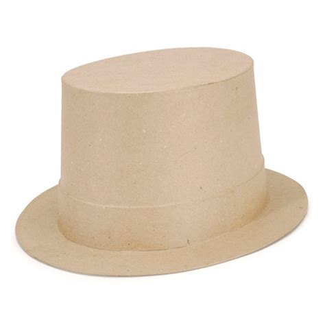 How To Make A Top Hat With Paper - paper mache top hat scrapping miscellaneous