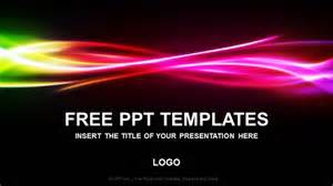 Rainbow Powerpoint Template Free by Free Rainbow Abstract Powerpoint Templates Free
