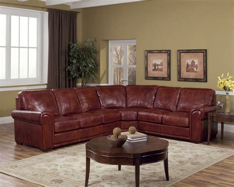 Reddish Brown Leather Sofa Reddish Brown Leather Sofa Clic And Aesthetic Explorer Leather Sofa Design For Home Thesofa