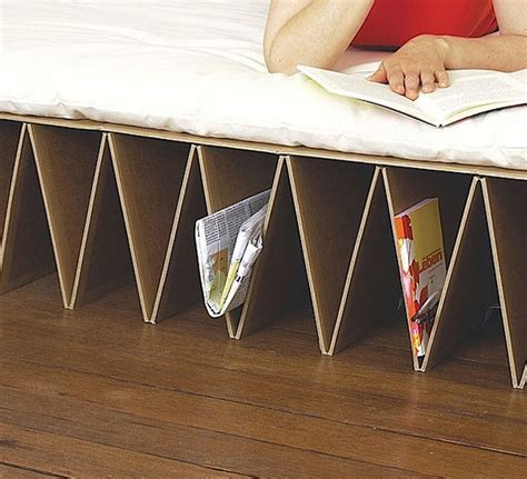 cardboard bed 26 cool and unusual bed designs bored panda
