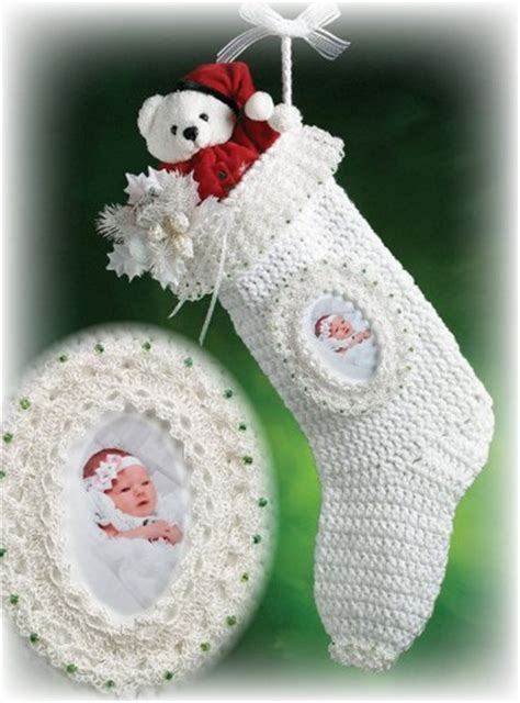 crochet pattern for large christmas stocking x243 crochet pattern only babys first christmas stocking