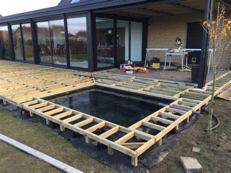 sichtschutz auf terrasse 688 structure terrasse bassin 03 piscine pinte
