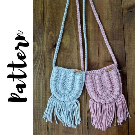 crochet pattern for boho bag crochet bag pattern crochet purse pattern crochet boho bag