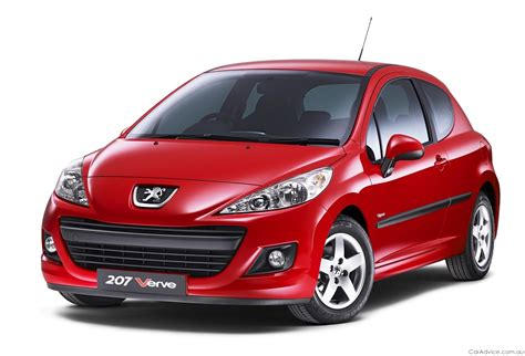 peugeot range peugeot 207 verve range expanded for europe photos 1 of 3