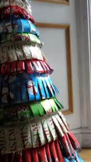 how to make a giant paper christmas tree