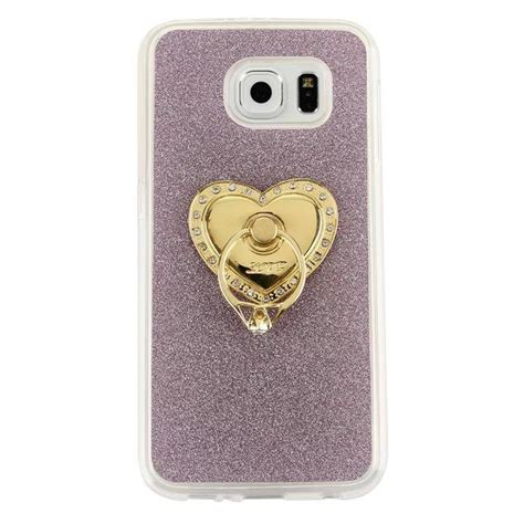 Glitter Skin With Finger Ring Samsung Galaxy J3 2015 grip stand finger ring bling glitter soft tpu for samsung galaxy s7 g930 s7 edge plus lg