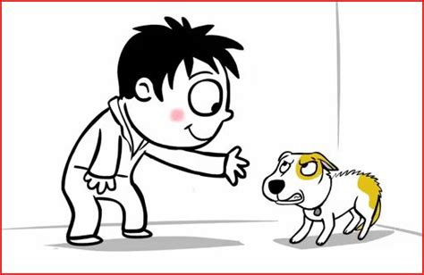 dog bite cartoon clip art preventing dog bites by learning to greet dogs properly