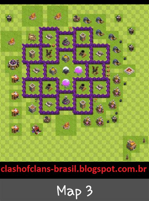 layout iniciante cv 7 centro da vila 7 farm layout clash of clans dicas