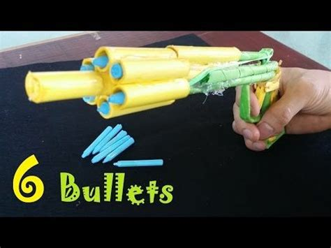 How To Make A Paper Bullet - paper guns and bullets on