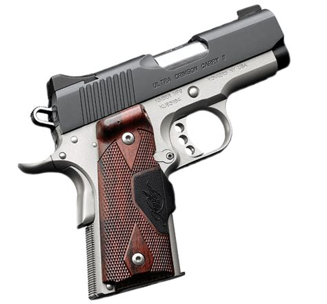 Kimber Ultra Carry 45acp kimber ultra crimson carry ii green lasers 45 acp