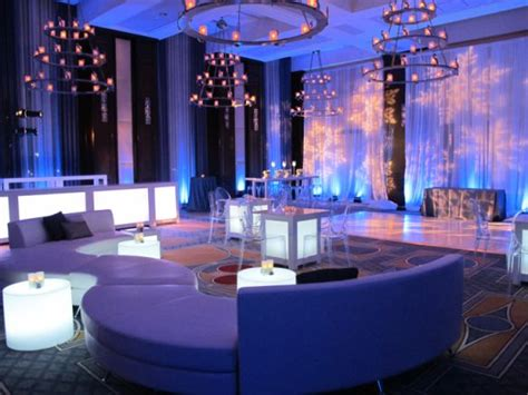 corporate holiday parties and events of the event inc transforms hotel ballroom into environment for corporate
