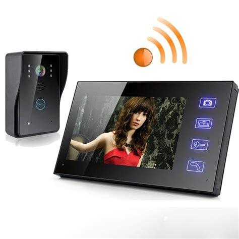 s01512 7 quot tft 2 4g wireless door phone intercom