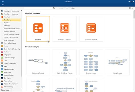 create flowcharts free create flowcharts try smartdraw free and make charts fast