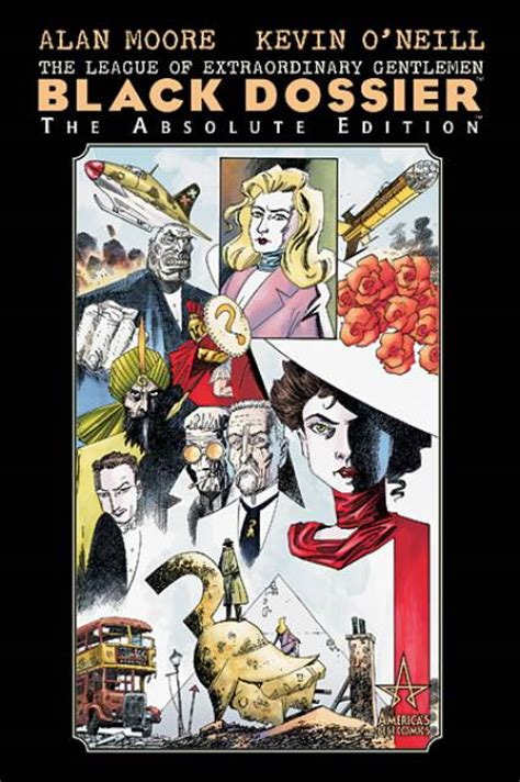 loeg black dossier tp 1401203078 allan quatermain comics comic vine