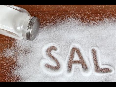 la sal de la 8466333746 propiedades de la sal com 250 n y sal del himalaya youtube