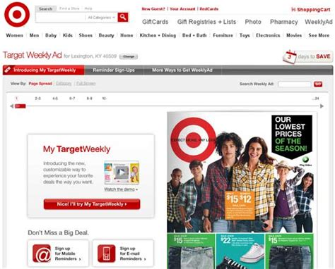 Shopping Alert Temperley For Target by Target Launches Weekly Ad Deals
