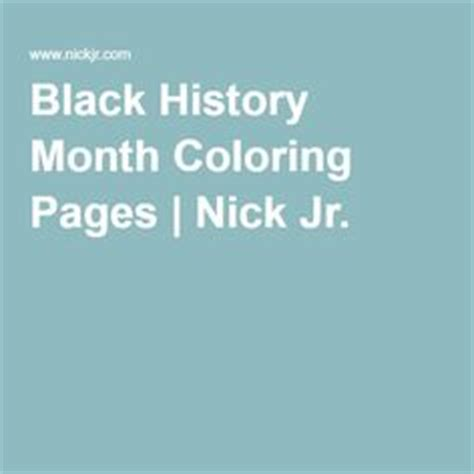 nick jr black history month coloring pages black history month graphic organizers and history on