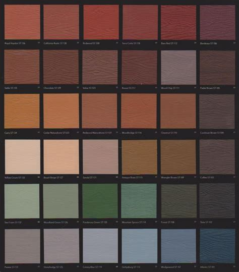 behr solid deck stain color chart     stain