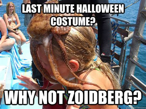 Last Minute Meme - last minute halloween costume why not zoidberg misc