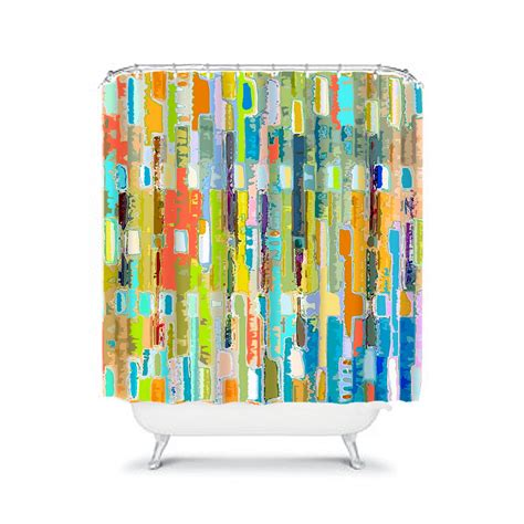 Colorful Shower Curtains Colorful Shower Curtain Blue Bathroom Decor Colorful Bathroom