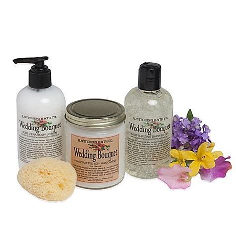 bed body and beyond b witching bath co wedding bouquet bath body gift set bed bath beyond