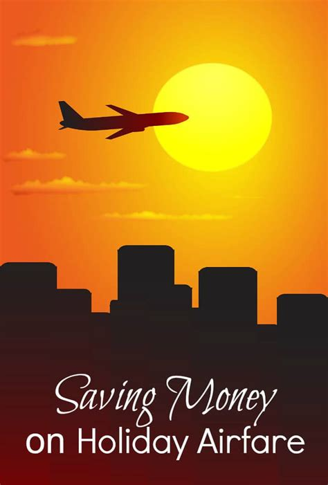 saving money on airfare