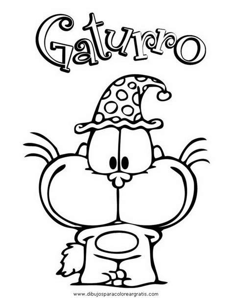 dibujos navideños para imprimir colorear gratis dibujos gaturro 11