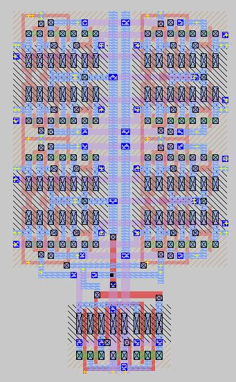 magic layout exles integrated circuit eliminating signal race hazard in an