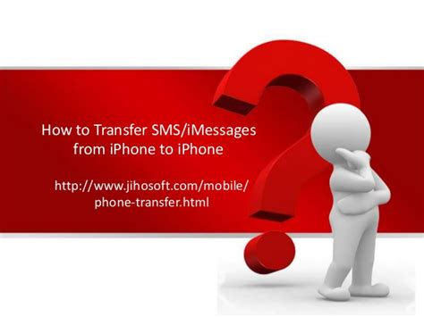 how to transfer sms imessages from iphone to iphone