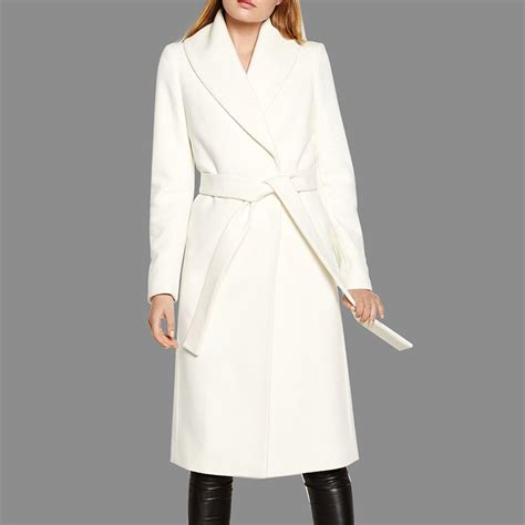 Fab Find Fabulous White Wool Coat by White Winter Look And Fabulous Shop White