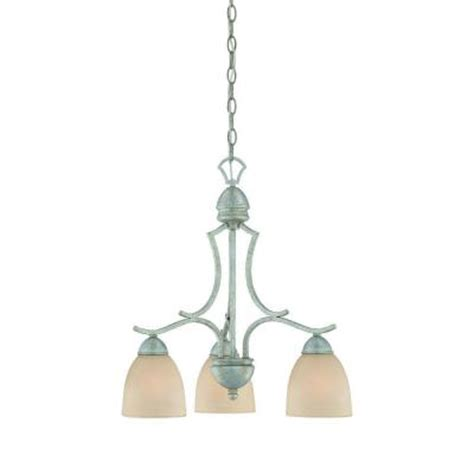 how to tea stain glass l shades thomas lighting triton 3 light moonlight silver chandelier