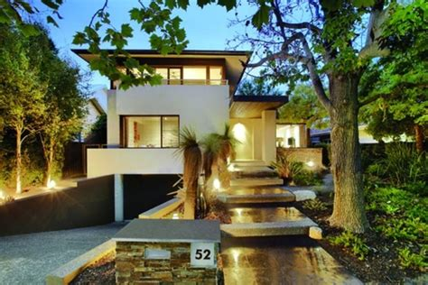 house plans for sloping lots in the rear amazing modern house plans for sloped lots photos best