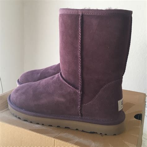 color port ugg shoes new s classic in color port poshmark