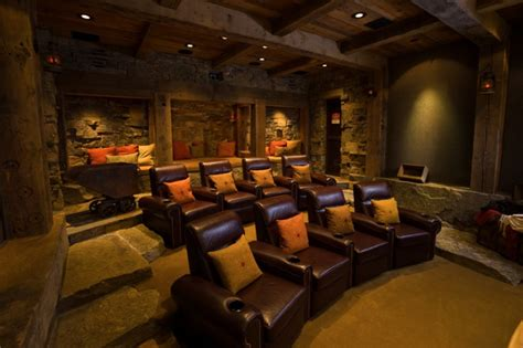 theater room chairs design the home theater style estate