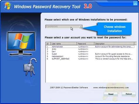 windows reset password crack how to log on to your windows user account if you forget