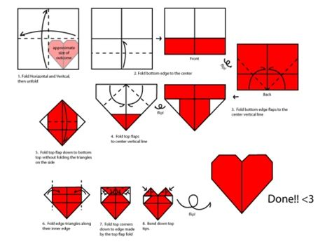 tutorial origami corazon origami hearts together with japan