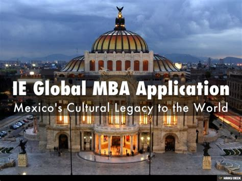 Temple Mba Global Mba Credits by Ie Global Mba Application Presentation