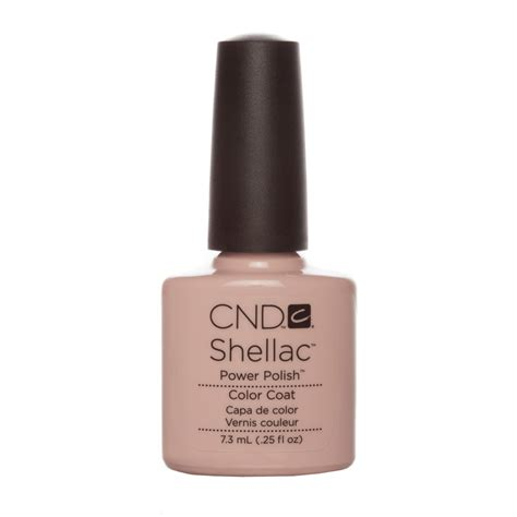 Nail Products by Cnd Shellac Uv Color Coat Gel Nail Clearly Pink