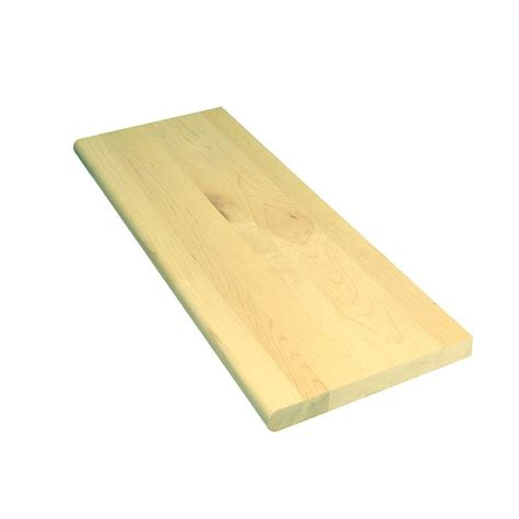 48 in x 11 1 2 in unfinished pine stair tread 8503e 048