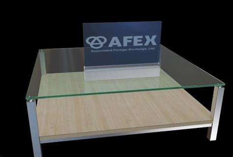 laser engraved with lighted led base 200x310mm desktop led edge lit sign with engraved logo