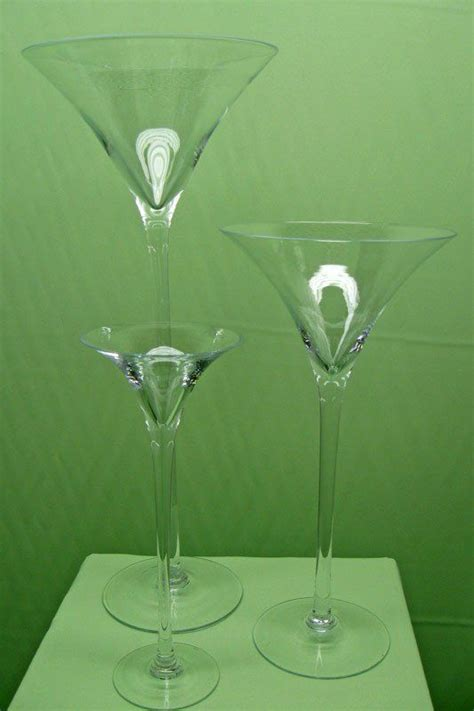 Martini Glass Vase Centerpieces by 1000 Ideas About Martini Centerpiece On