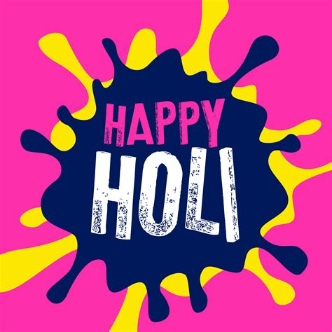 happy color happy holi color splash vector background download free