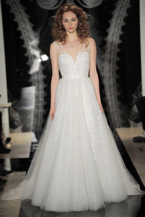 Wedding Dresses Ny by Reem Acra 2014 Bridal Collection New York Bridal Fashion