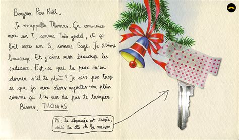 Exemple Lettre Pere Noel Originale Quand Le P 232 Re No 235 L R 233 Pond Tr 232 S Franchement Aux Lettres D