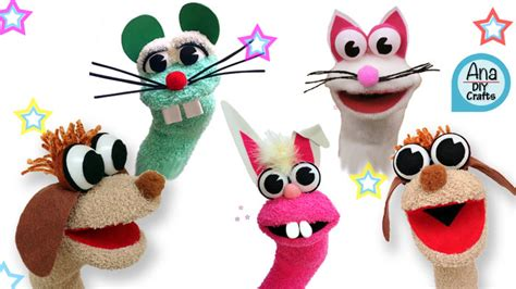 animal sock puppet patterns animal sock puppets diy crafts