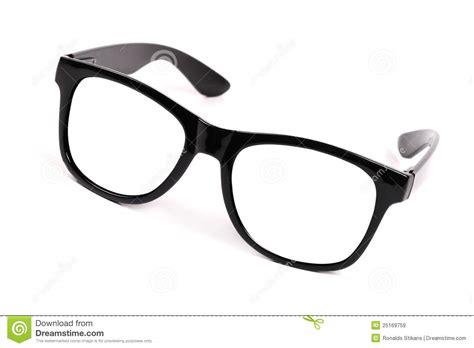 black frame glasses royalty free stock images image