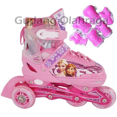 Sepatu Roda Anak Roda Bajaj Bisa Gojek Pelindung Dekker jual sepatu roda frozen model bajaj pink inline skate frozen pink gudang olahraga