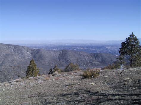 hundred peaks section southern california hiking gobbler s knob february 08 2003