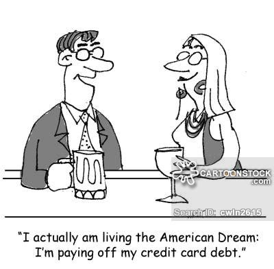 credit card debt economic cartoons 2016 living the dream cartoons and comics funny pictures from